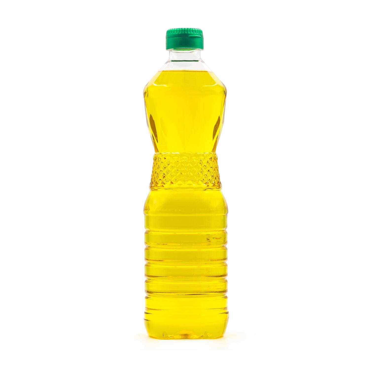 cooking oil plastic bottle